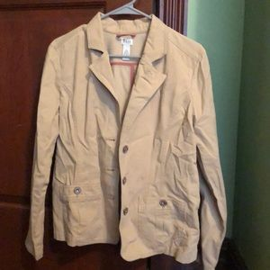 Hardly worn bass khaki blazer